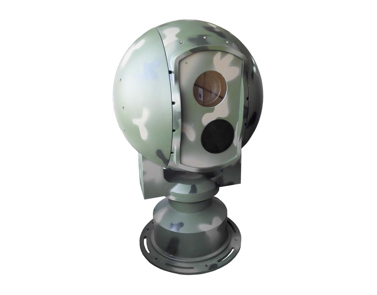 SHR-PT550HLV4020ZIR75/300R球形光电转台